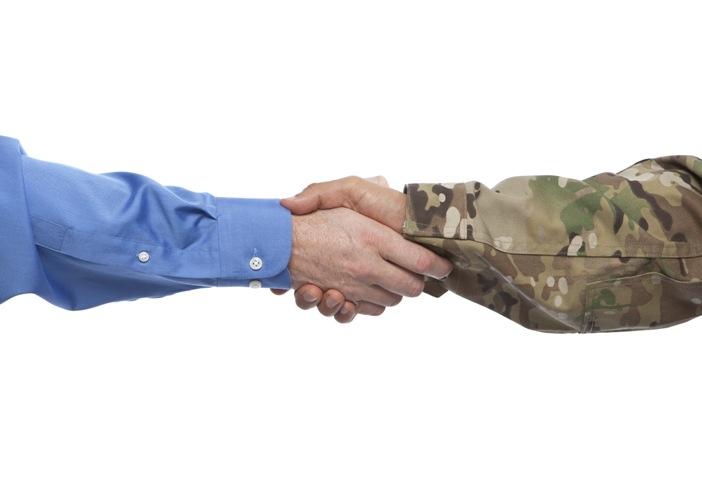 vet handshake