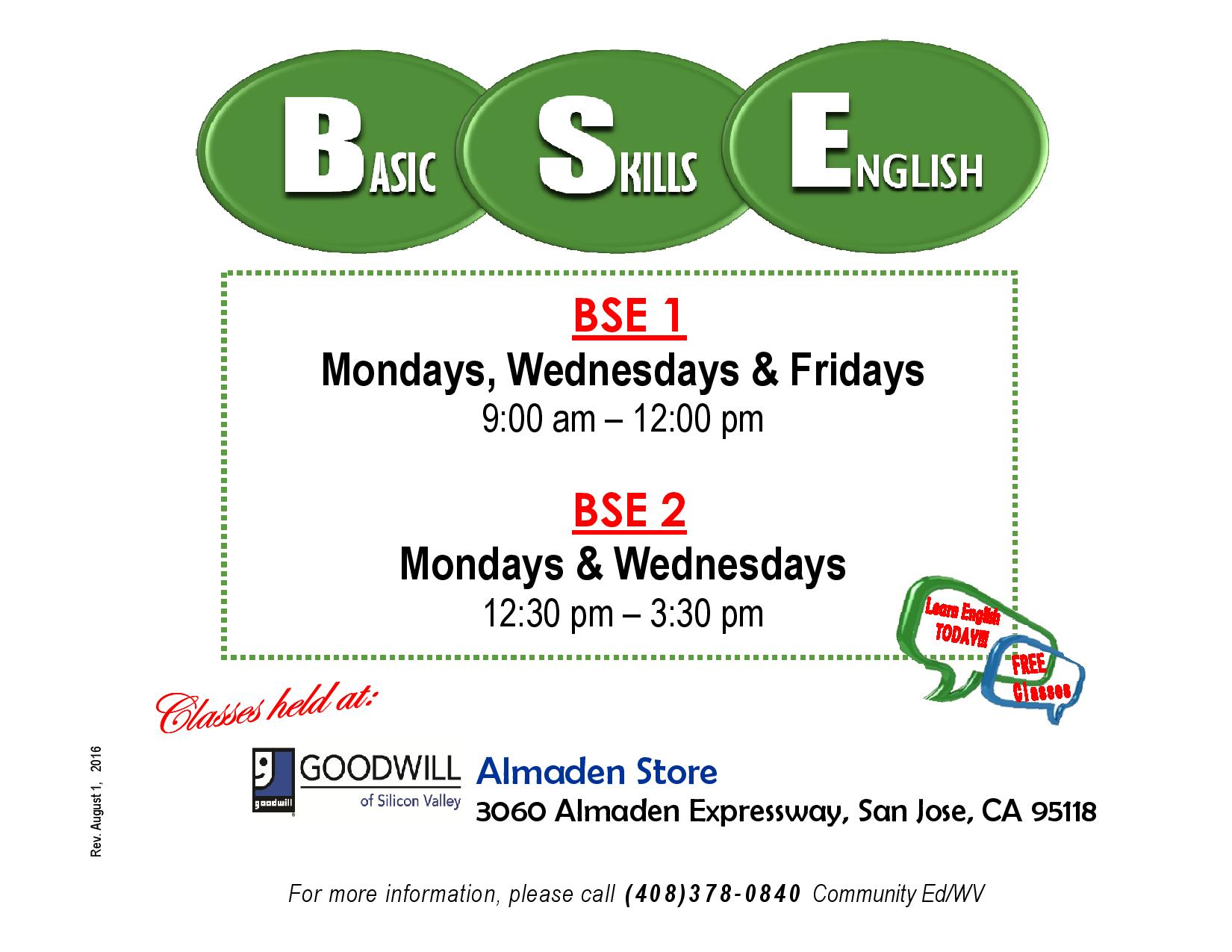 BSE Flyer