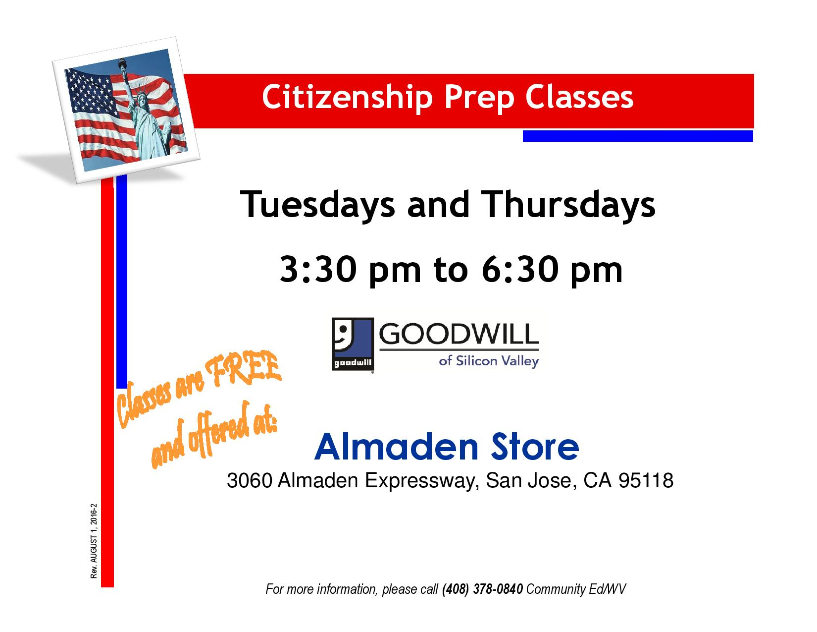 Citizenship Prep Flyer